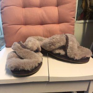 Ugg purple sandal slippers